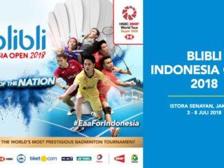 แบดมินตัน อินโดนีเซีย โอเพ่น 2018
