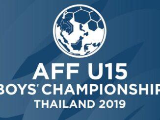 โปรแกรมถ่ายทอดสด ฟุตบอล U15 ชิงแชมป์อาเซียน 2019