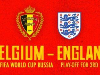 อังกฤษ เบลเยียม บอลโลกชิงที่ 3
