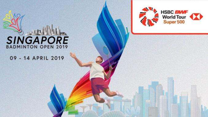 ถ่ายทอดสด แบดมินตัน สิงคโปร์ โอเพ่น 2019 วันนี้