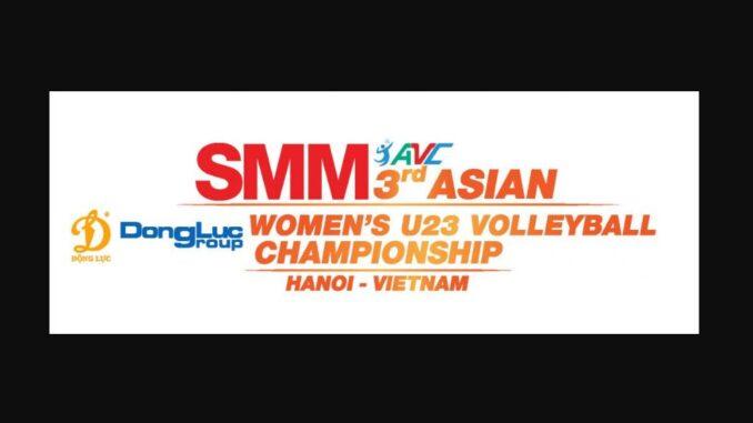 ถ่ายทอดสด วอลเลย์บอลหญิง U23 ชิงแชมป์เอเชีย 2019 วันนี้