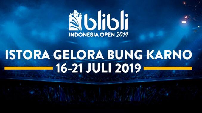 ถ่ายทอดสด แบดมินตัน อินโดนีเซีย โอเพ่น 2019 วันนี้