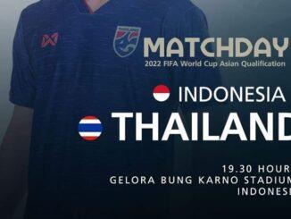 ถ่ายทอดสด ไทย อินโดนีเซีย ฟุตบอลโลกรอบคัดเลือก