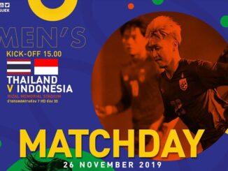 ถ่ายทอดสดฟุตบอลซีเกมส์ ไทย อินโดนีเซีย วันนี้