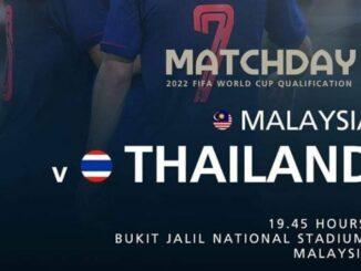 ถ่ายทอดสด ทีมชาติไทย มาเลเซีย ฟุตบอลโลกรอบคัดเลือก
