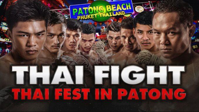 ดูมวย Thai Fight ป่าตอง ล่าสุด